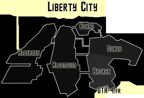 Tout Sur Liberty City La Ville De GTA 4 IV