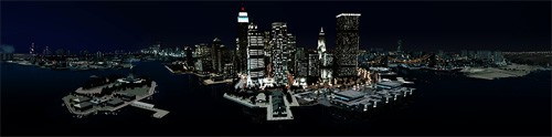 Liberty City vue de face
