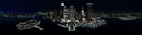 Liberty City vue de face